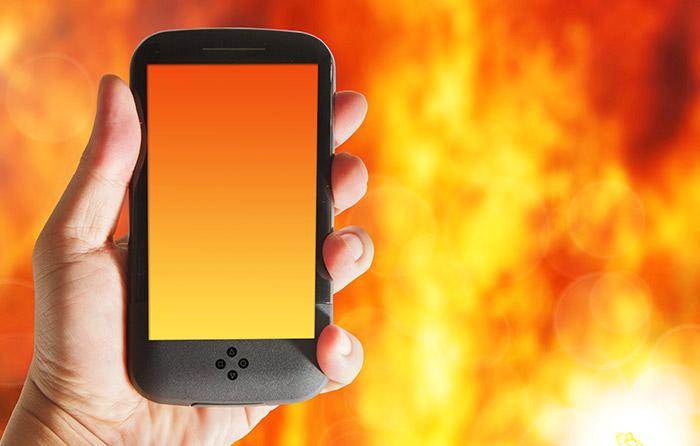 mobilni telefon se greje