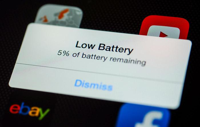 trajanje baterije na mobilnom telefonu